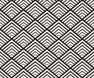 Geometrischer nahtloser Muster-Vektor Stockfotos
