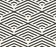 Geometrischer nahtloser Muster-Vektor Lizenzfreie Stockfotos