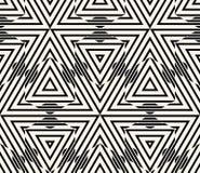 Geometrischer nahtloser Muster-Vektor Lizenzfreies Stockbild