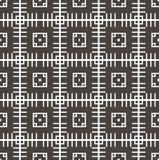 Geometrischer nahtloser Musterhintergrund Stockfotografie