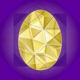 Geometrischer Polygon-Hintergrund Stockbilder