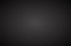 Geometrischer Polygonhintergrund, abstrakte schwarze metallische Tapete stock abbildung