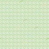 Geometrischer Regenwald spornte grünes nahtloses Vektormuster an lizenzfreie abbildung