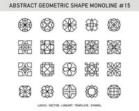 Geometrischer Satz Stockfoto