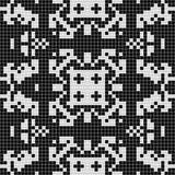 Geometrischer Schwarzweiss-Hintergrund Stockfoto