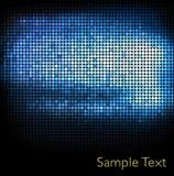 Geometrischer Technologiehintergrund. Stockfotos