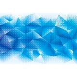 Geometrischer Technologiehintergrund Stockfotografie