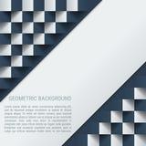 Geometrischer Vektorhintergrund des diagonalen Schachs Lizenzfreie Stockfotos