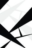 Geometrischer vektorplan Lizenzfreie Stockfotografie