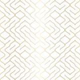 Geometrischer weißer nahtloser Musterhintergrund Einfacher grafischer Druck Vektor, der Linie Beschaffenheit wiederholt Modernes  stock abbildung