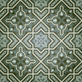Geometrisches Ölfarbe-dekoratives nahtloses Muster Lizenzfreie Stockfotos
