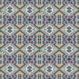 Geometrisches abstraktes Eulenmuster für Gewebe, Packpapier, Tapete lizenzfreie stockfotos