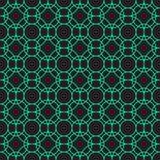 Geometrisches abstraktes Muster des Kreises in der Dunkelheit Lizenzfreie Stockbilder