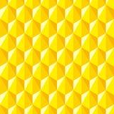 Geometrisches abstraktes Muster von Hexagonen Lizenzfreie Stockfotografie
