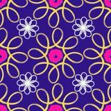 Geometrisches abstraktes nahtloses Muster Stockfoto