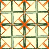 Geometrisches abstraktes nahtloses Muster Lizenzfreies Stockfoto