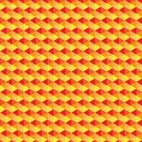 Geometrisches abstraktes nahtloses Muster Stockbilder