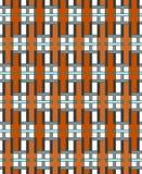 Geometrisches abstraktes nahtloses Muster Linearer Motivhintergrund Lizenzfreies Stockbild