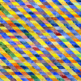 Geometrisches Aquarell Stockfotografie