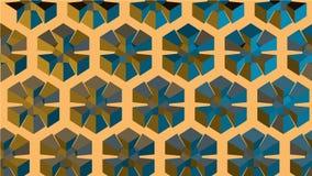 Geometrisches Bild des Hintergrundes Stockfotografie