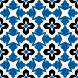 Geometrisches Blumenmuster Lizenzfreies Stockfoto