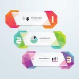 Geometrisches buntes modernes Design lizenzfreie abbildung
