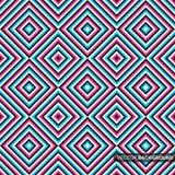Geometrisches buntes Muster - nahtloser Hintergrund Stockfotos