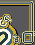 Geometrisches Deco Stockbild