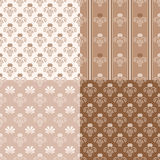 Geometrisches dekoratives Muster Lizenzfreies Stockbild