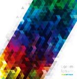 Geometrisches Design-Hintergründe Lizenzfreies Stockfoto