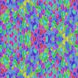 Geometrisches Design, Mosaik eines Kaleidoskops stock abbildung