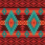 Geometrisches ethnisches Muster Lizenzfreies Stockfoto