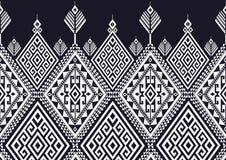 Geometrisches ethnisches Muster stock abbildung