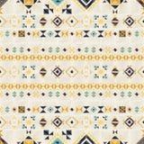 Geometrisches ethnisches nahtloses Muster Stockfotografie