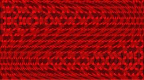 Geometrisches festliches Halbtonmuster Weiche dynamische Linien Vektorillustration mit Punkten Panoramischer Hintergrund der mode stock abbildung