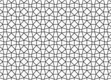 Geometrisches Fliesenmosaik Epeating mit Achtecken und Raute Lizenzfreie Stockfotos