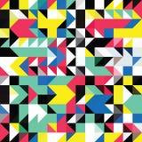 Geometrisches Formmuster des Dreiecks Stockfotografie
