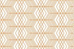 Geometrisches Goldnahtloses Muster stock abbildung