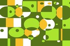 Geometrisches grafisches Muster Lizenzfreies Stockbild