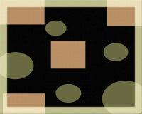 Geometrisches grafisches Muster Lizenzfreie Stockfotografie