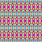 Geometrisches Hippie-Muster Lizenzfreies Stockfoto