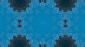 Geometrisches kaleidoskopisches Mosaik Fractal stock footage
