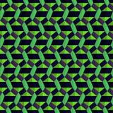 Geometrisches Kettenmuster Lizenzfreie Stockbilder