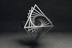 Geometrisches Kunstkonzept lizenzfreies stockfoto