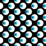 Geometrisches Laser-Auge lizenzfreie abbildung