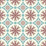 Geometrisches Muster der abstrakten Weinlese Stockfoto