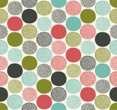 Geometrisches Muster der nahtlosen Punktbeschaffenheit stock abbildung