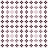 Geometrisches Muster in der Wiederholung Gewebedruck Nahtloser Hintergrund, Mosaikverzierung, ethnische Art Stockfotografie