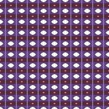 Geometrisches Muster in der Wiederholung Gewebedruck Nahtloser Hintergrund, Mosaikverzierung, ethnische Art Stockfoto