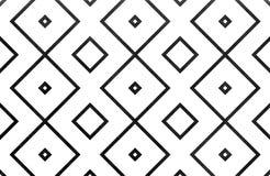 Geometrisches Muster des Aquarells Lizenzfreie Stockfotografie
